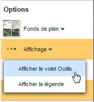 affichage outils